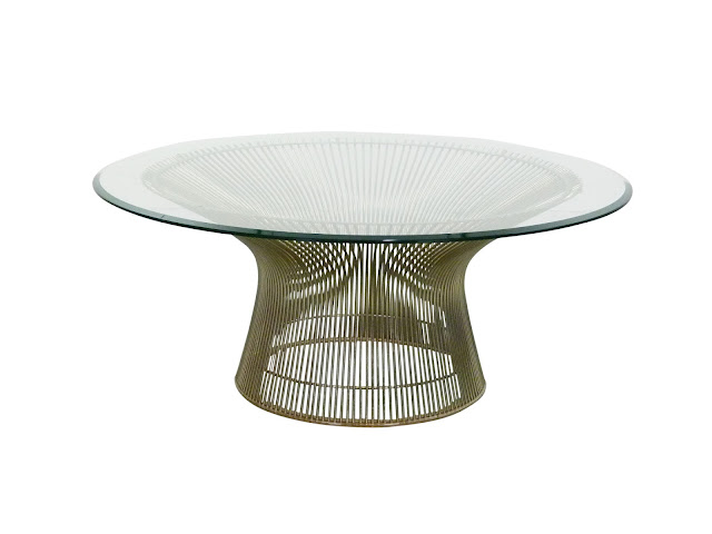 warren platner for Knoll mid century modern wire coffee table