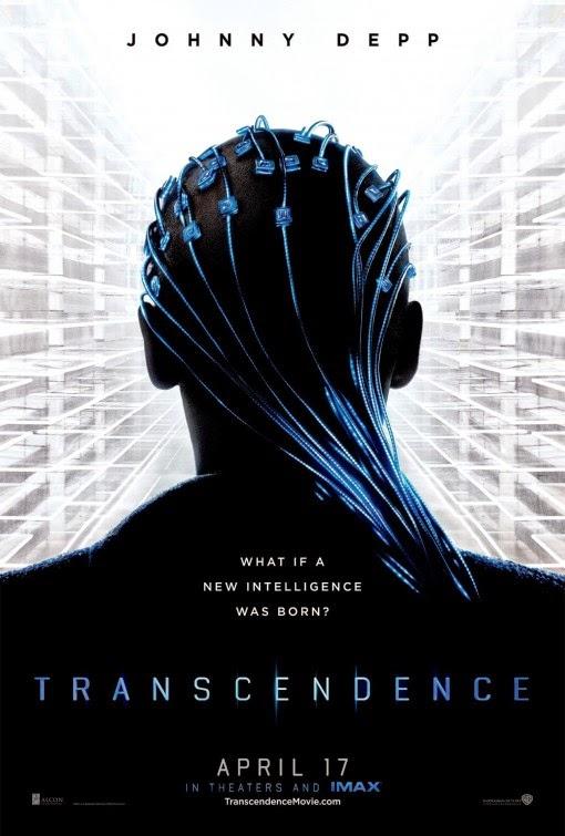 Transcendence film poster