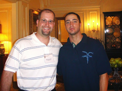 Ryan Braun with Rabbi Jason Miller