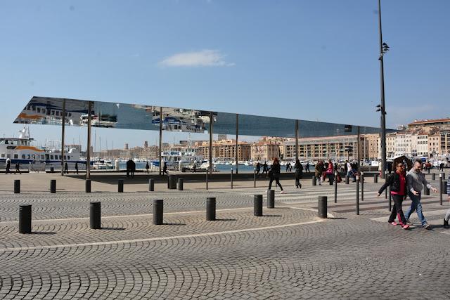 Modern Buildings Marseille Vieux Port