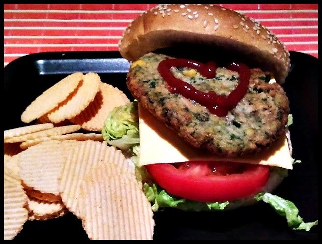 La cuchara verde hamburguesas vegetales de avena y - Hamburguesas vegetarianas caseras ...