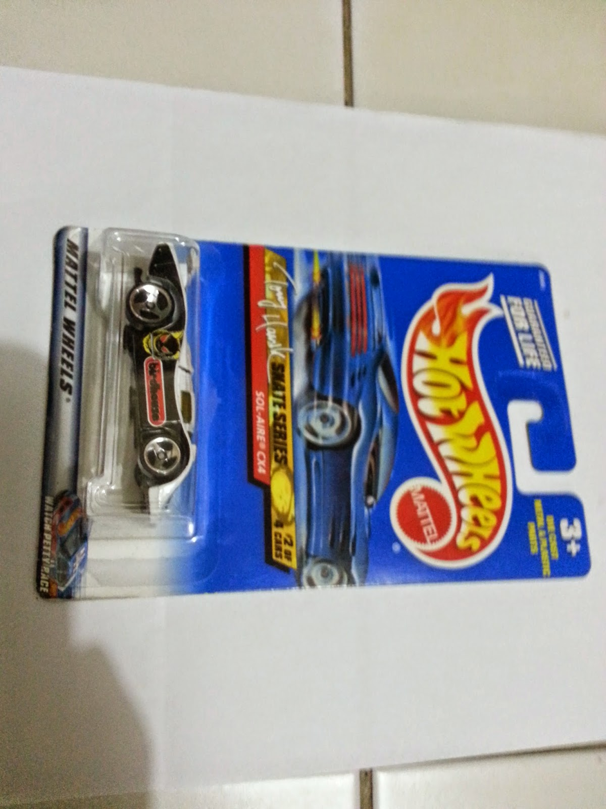 Hot Wheel Tony Hawk Skate Series Diecast