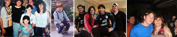 Lionel Messi, born with