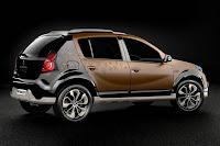 Fotos novo Renault Sandero lateral com Rodas de liga