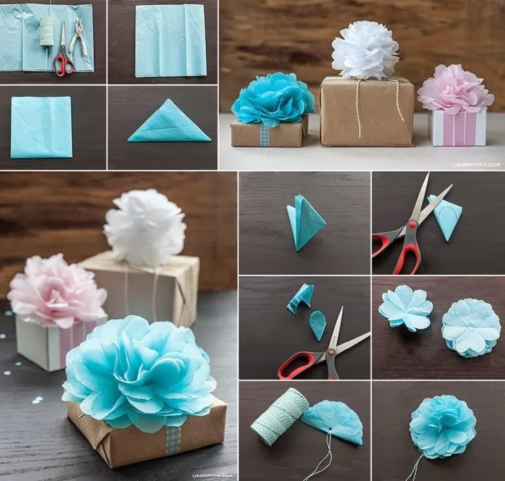 Parttis 8 ideas para envolturas con papel craft for Envolturas para regalos