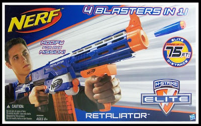 review nerf retaliator the test pit