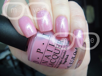 OPI Happy Anniversary over Got a Date To-Knight