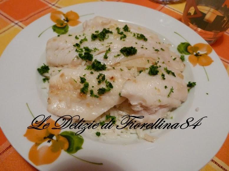 Le delizie di fiorellina84 filetti di pesce con riso saltato for Pesce chicco di riso
