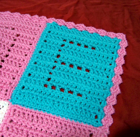 Crochet Letters : Crochet Alphabet Squares - Quick And Easy Crochet