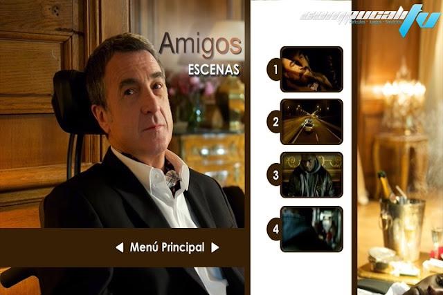 Intouchables DVDR NTSC Español Latino Menú 2012