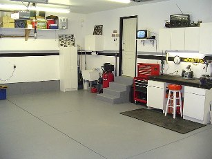 Steps to Clean Garage Workshop