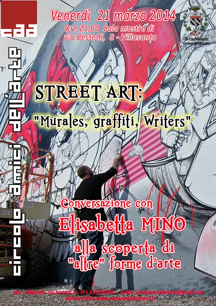 Street Art - CONFERENZA