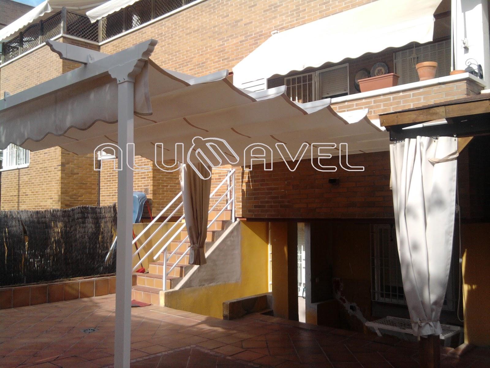 Toldos para patios gallery of toldos para verandas - Toldos para balcones precios ...