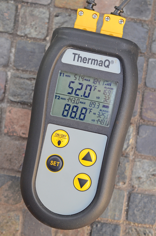 ThermaQ review, remote probe thermometer