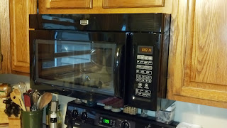 new Maytag microwave from Home Depot