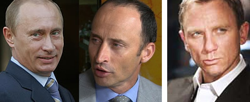 Similarities I Come Across Receding Hairlines And Blue Eyes