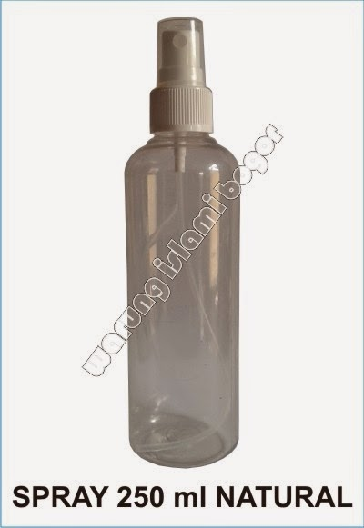 Jual Botol Spray 250ml Warna Bening