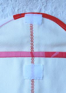 Большая пляжная сумка из ткани
