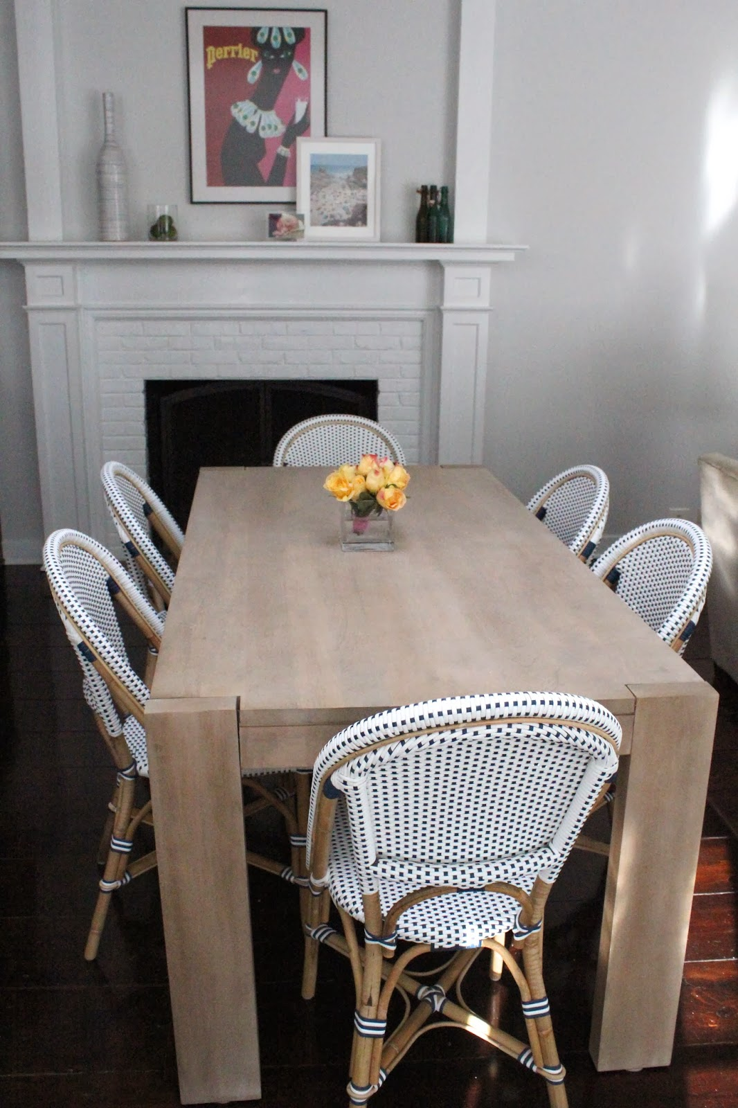 Imperfect Polish Kitchen Table Chairs - West elm table and chairs