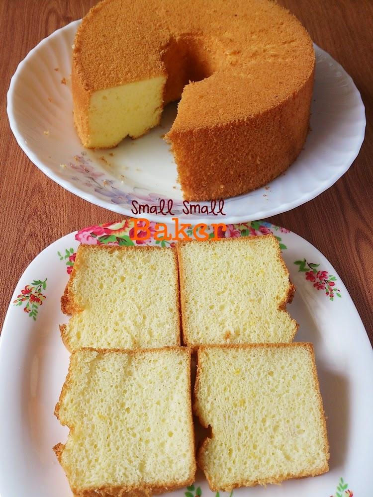 Small Chiffon Cake Recipe