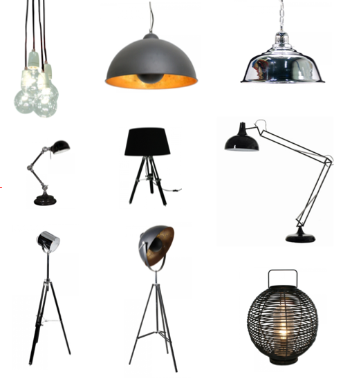studio karin ETT AXPLOCK SNYGGA LAMPOR