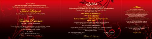 Design undangan DSLM201312