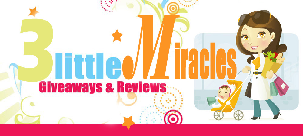 3 little Miracles Giveaways & Reviews