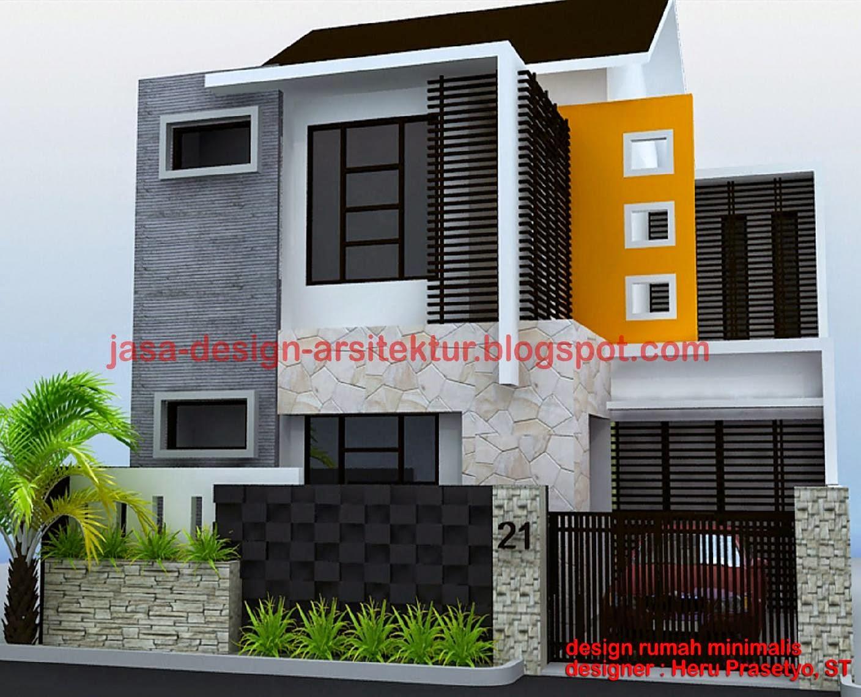 Jasa desain rumah minimalis design rumah minimalis for Design rumah mimimalis modern