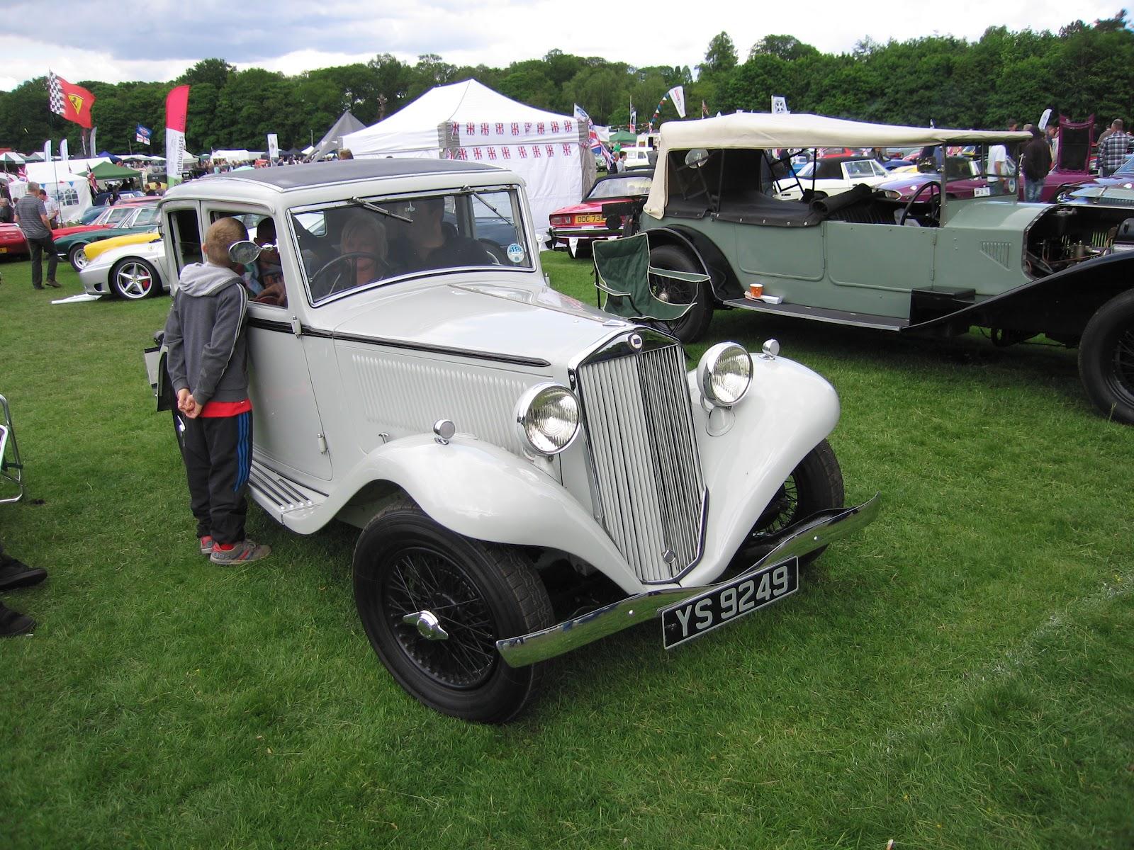 Scarlet Martini Lancias At Tatton Hall Classic Car Show - Augusta car show