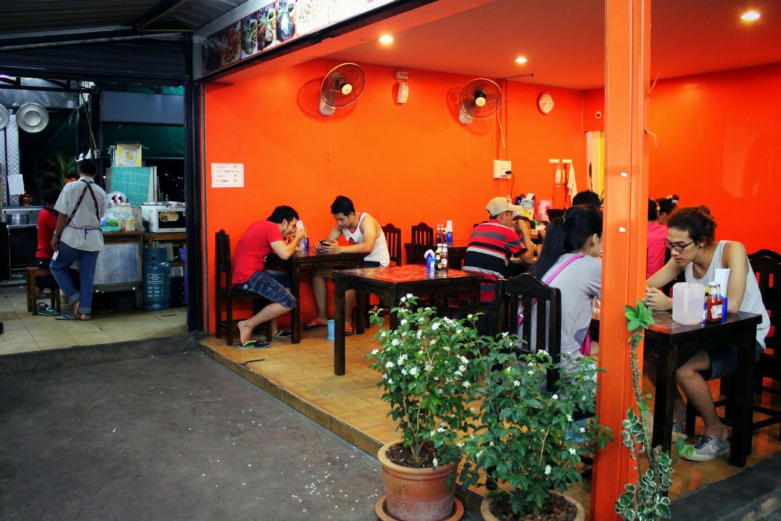 Thai Farang food culture