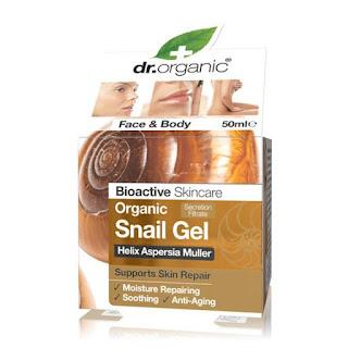 dr organic gel de baba de caracol y aloe vera
