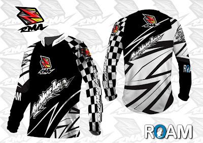 Jual Jersey Baju Pakaian Celana Sepeda, Motocross, Trail...dll - RMA Ride More Asia Jersey Sample 11