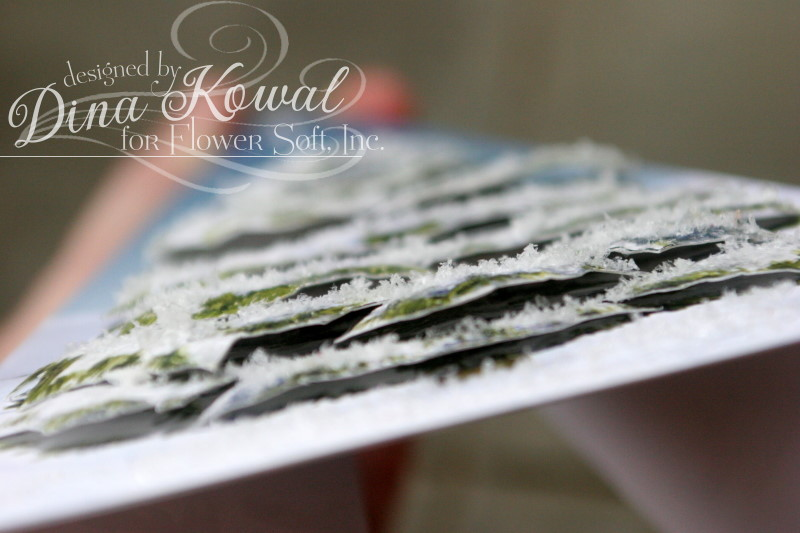 Dina Kowal Creative Flower Soft Pyramid Cards And A Change