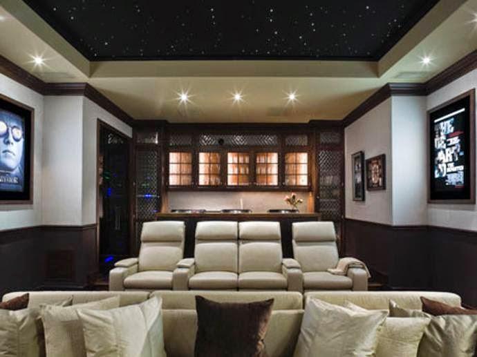 Sala De Tv No Sotao ~ Ideias para sua sala de TV!