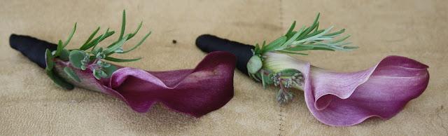 Splendid Stems Event Florals - Boutonniere - Calla Lily