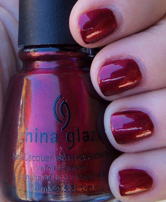 China Glaze Thunderbird Swatch - Shade