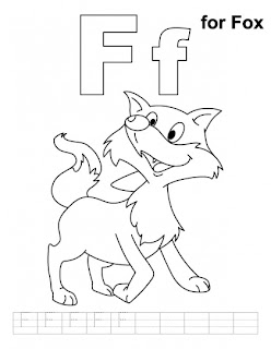 letter ff printable coloring pages