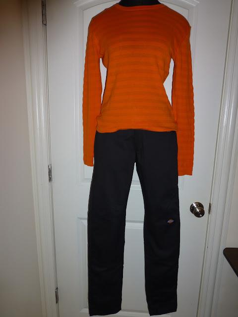 Dickies skinny straight leg pants