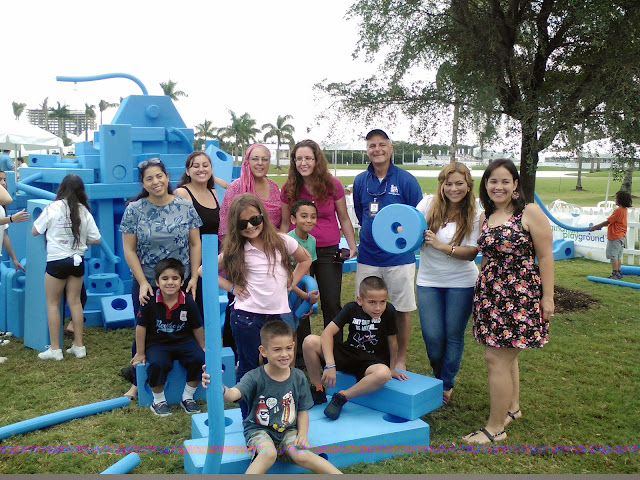 Bloggin' Mamas Group at the Imagination Playground