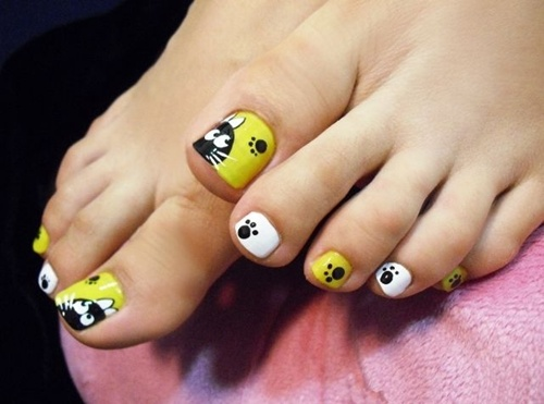 Decoración de uñas para los pies 2015,2016,2017