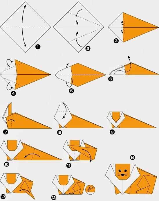 Как сделать из бумаги любых животных