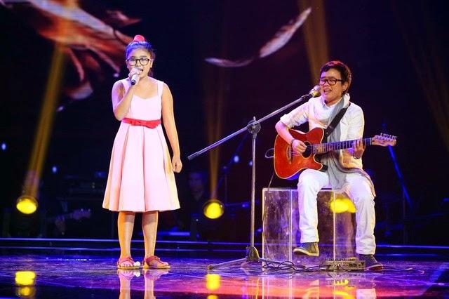 Nguyễn Thiện Nhân giọng hát Việt nhí 2014