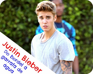 Justin Bieber foi ao Brasil