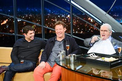 Jô Soares entrevista Claude Troisgros e Felipe Bronz Crédito: Globo/Zé Paulo Cardeal