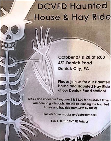 10-27/28 Derrick City VFD