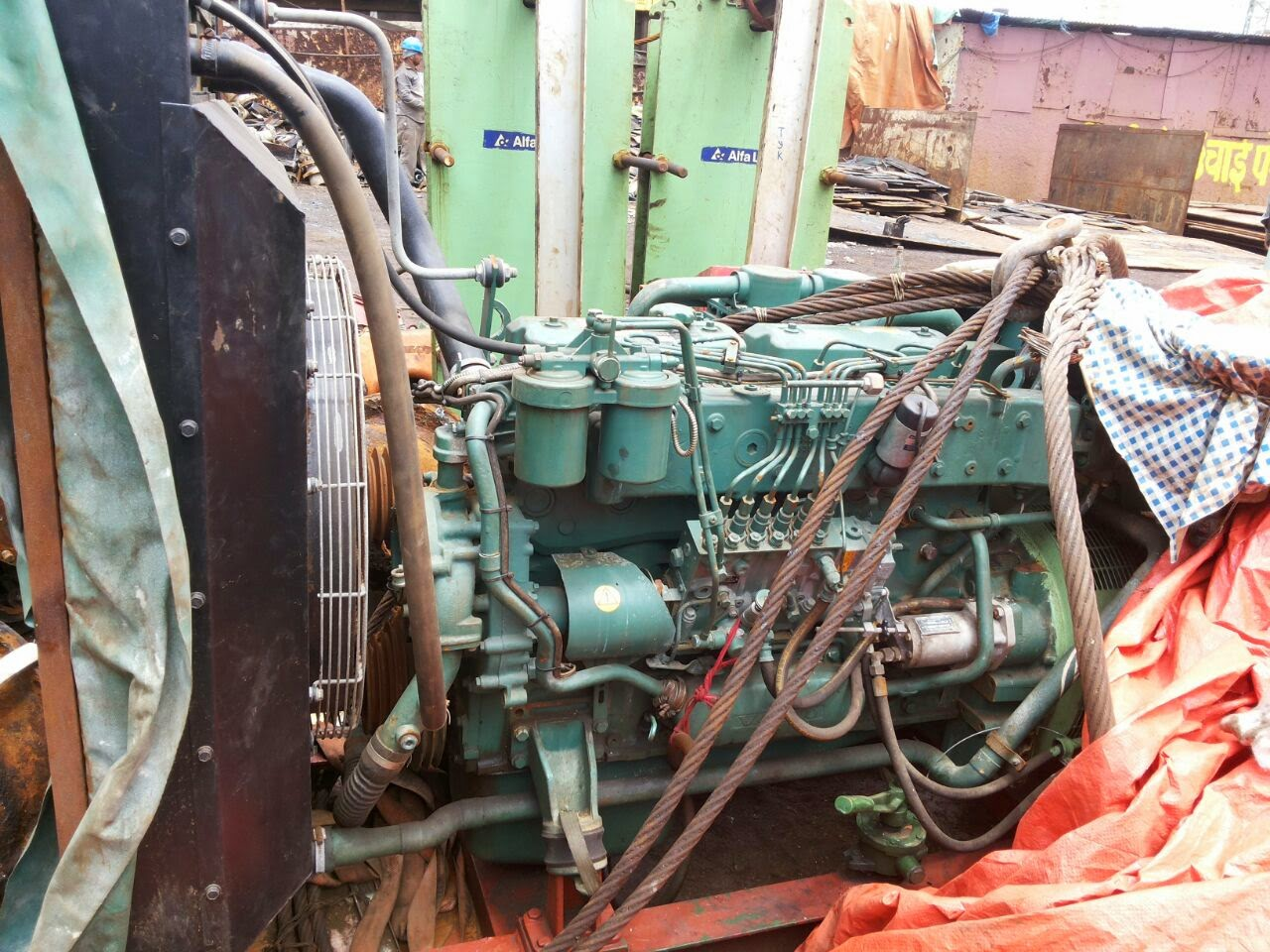 volvo penta tamd 71b 125 kva marine generator set for sale rh marine engines in