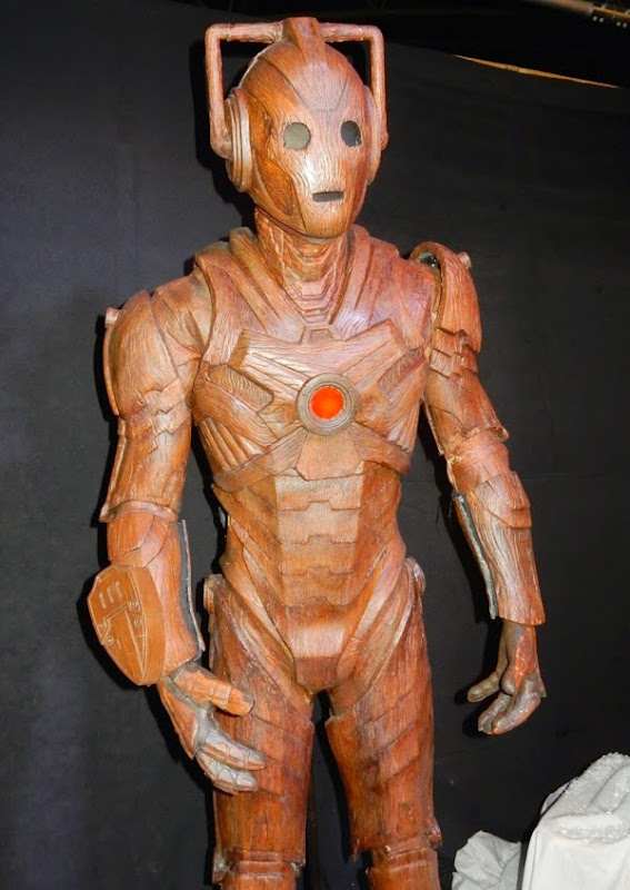 Wooden Cyberman costume Doctor Who