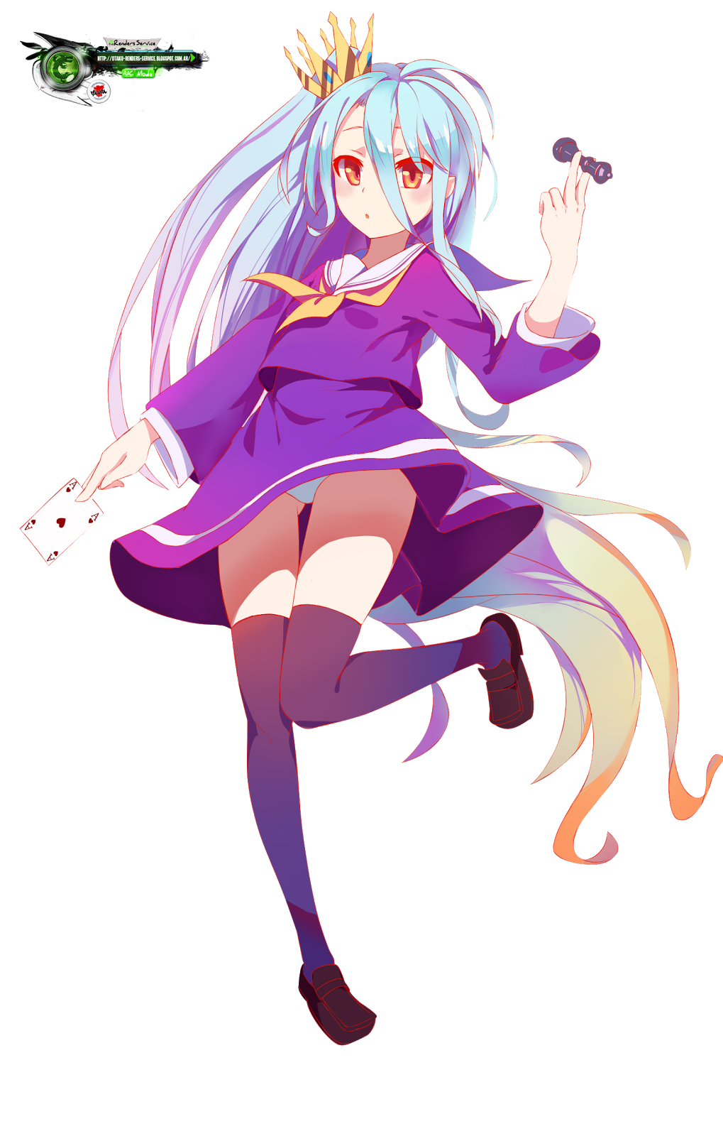 No Game,No Life:Shiro Cute This Game Render | ORS Anime ...