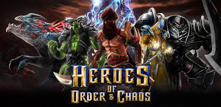 Heroes of Order & Chaos v1.0.7  (APK+DATA)