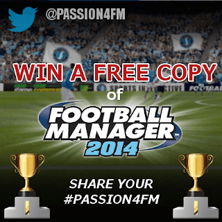 Win Football Manager 2014 - FM14 Giveaway